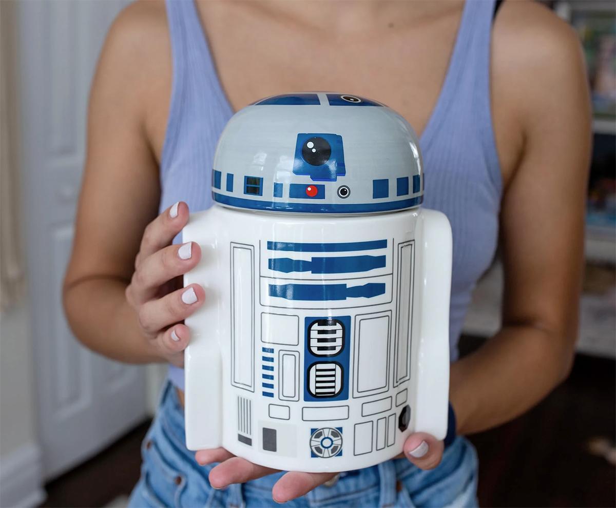 Potes de Cookies Star Star Wars Ceramic Figural Cookie Storage Jar