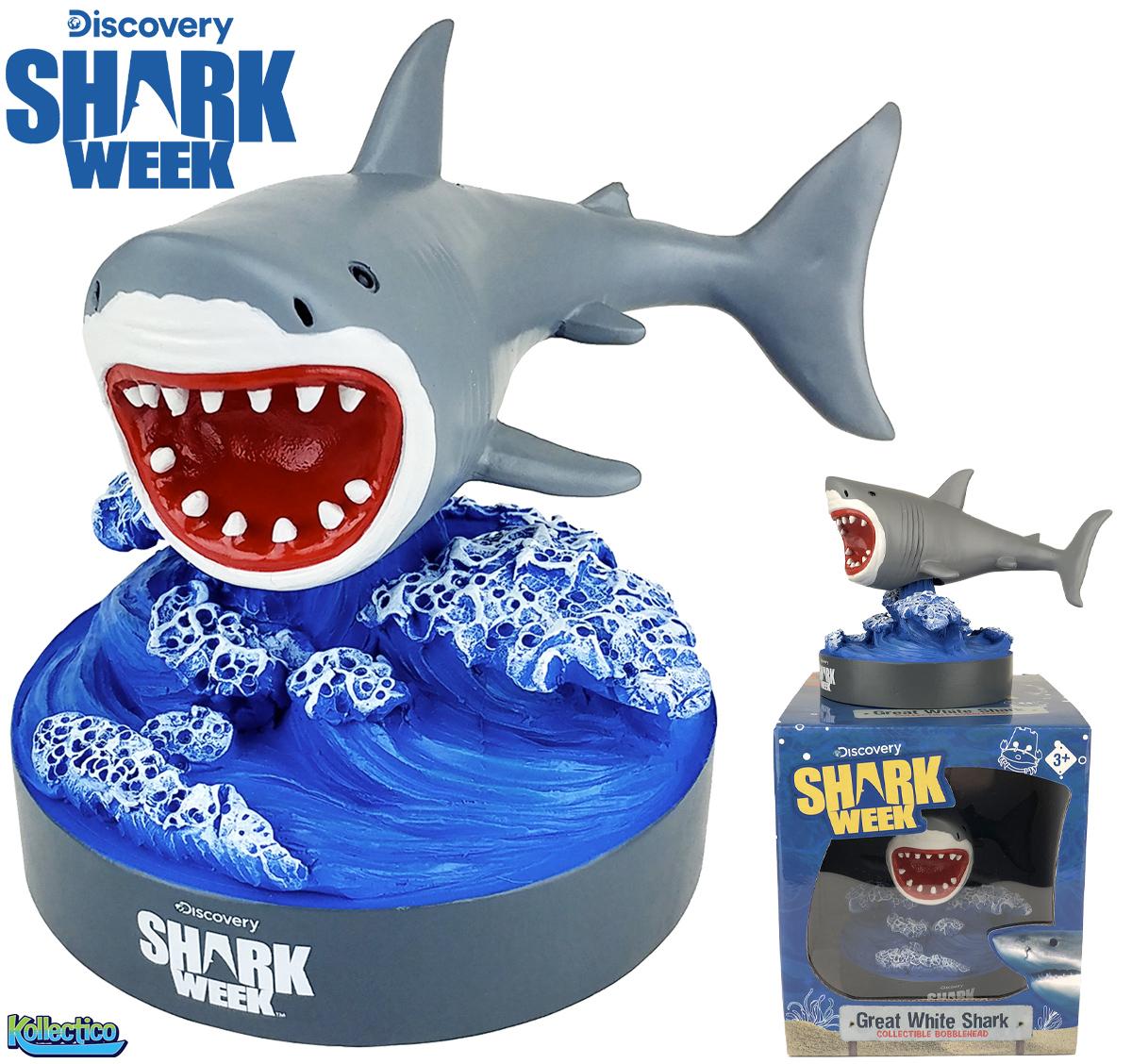 Shark Week Bobble Head: O Grande Tubarão Branco