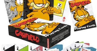 Baralho Garfield com Ilustrações e Citações