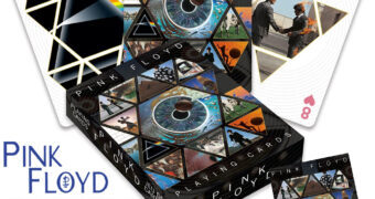 Baralho Pink Floyd com Arte de Storm Thorgerson