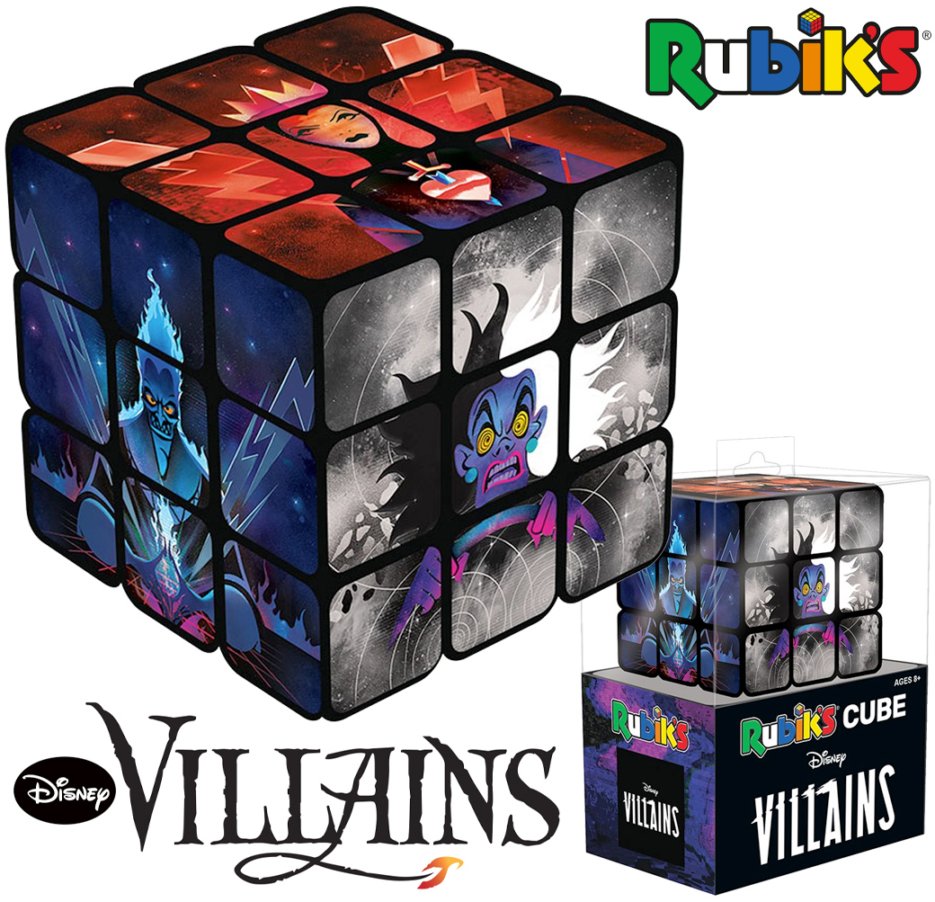 Cubo de Rubik Vilãs e Vilões Disney
