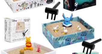 Jardins Zen Disney Anti-Stress: Estranho Mundo de Jack, Lilo & Stitch e Ursinho Pooh