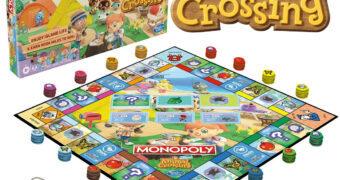 Jogo Monopoly do Game Animal Crossing da Nintendo