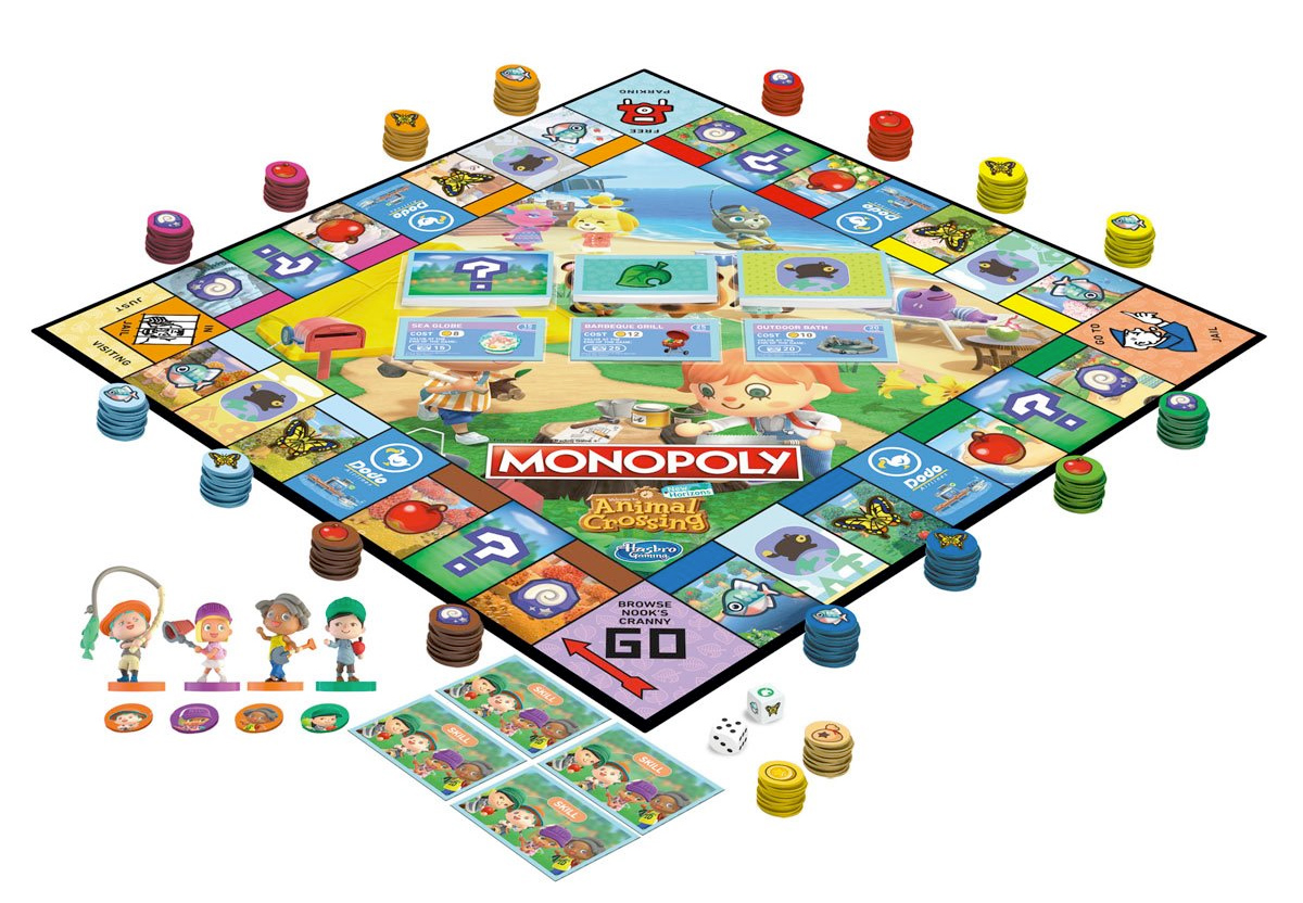 Jogo Monopoly Animal Crossing-New Horizons