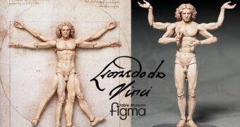 O Homem Vitruviano – Action Figure Figma Table Museum