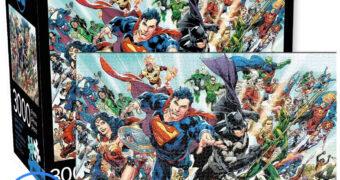 Quebra-Cabeça DC Comics Cast com 3.000 Peças