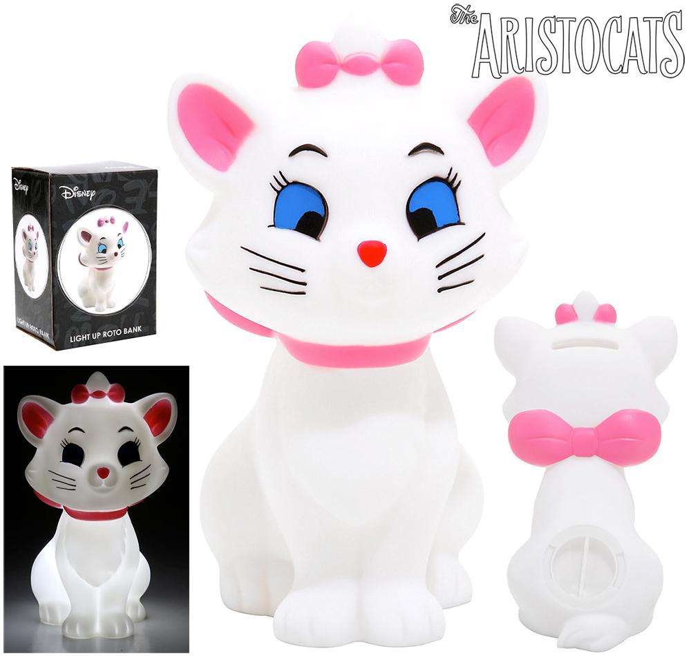 Cofre e Luminária da Gatinha Marie do Filme Aristogatas (Disney)