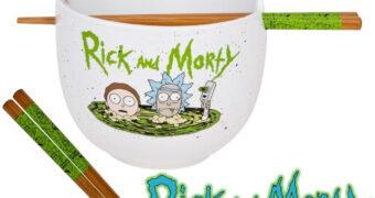 Tigela Rick and Morty Portal Ramen