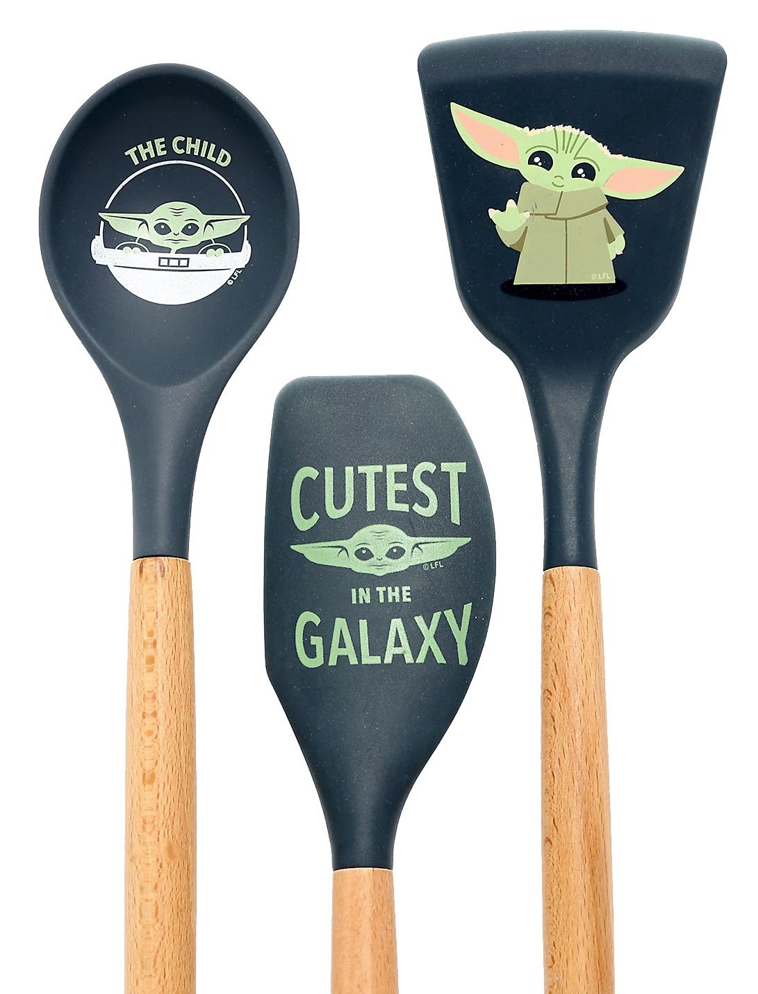 Espátulas de Cozinha Baby Yoda Star Wars: The Mandalorian