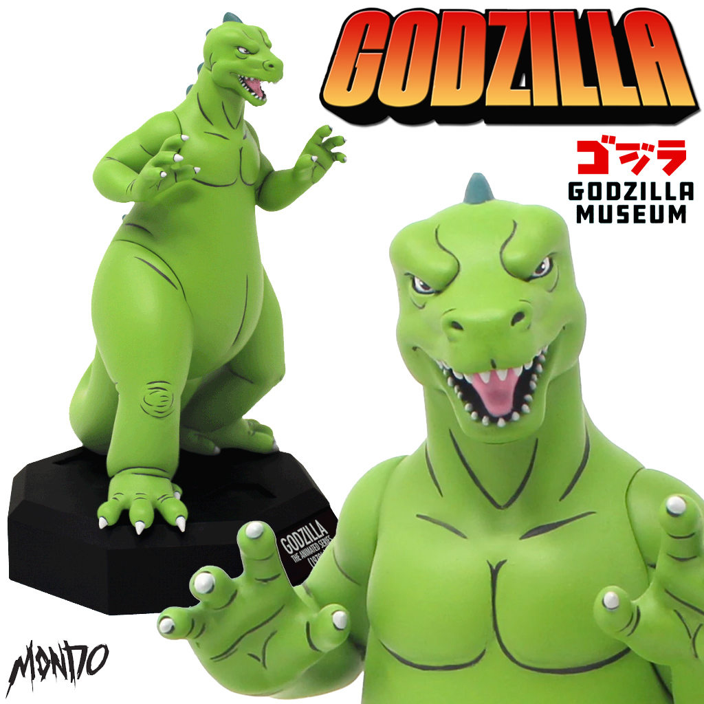 Estátua Godzilla - A Série Animada (1978)