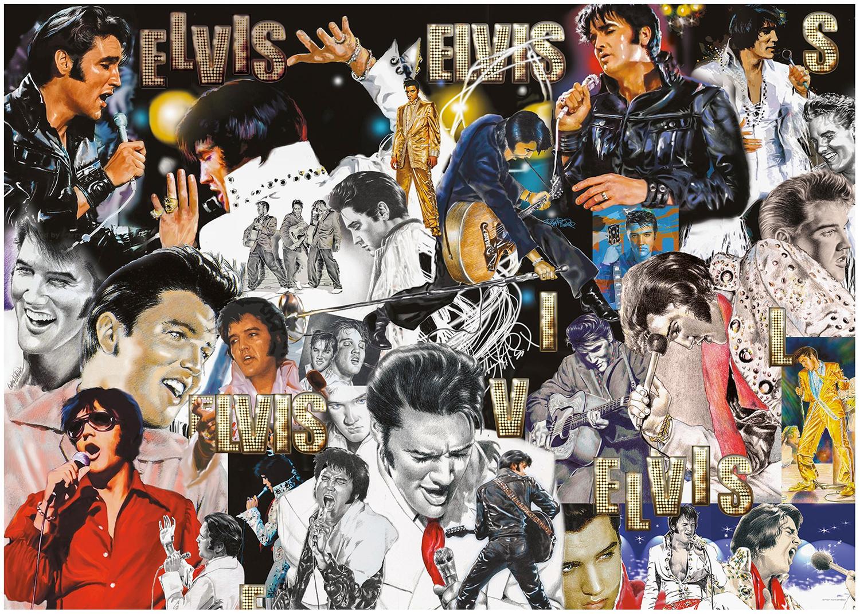 Quebra-Cabeça Elvis Presley com 3.000 Peças