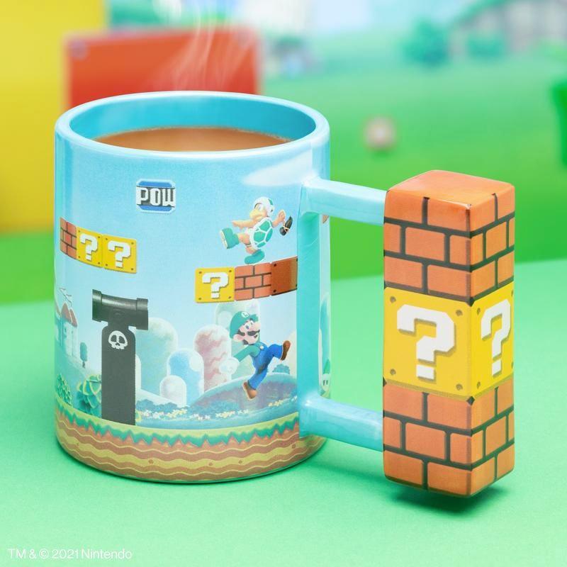 Caneca Super Mario Level Shaped Mug