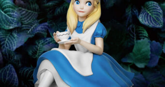 Alice no País das Maravilhas Master Craft – Estátua de Luxo Beast Kingdom