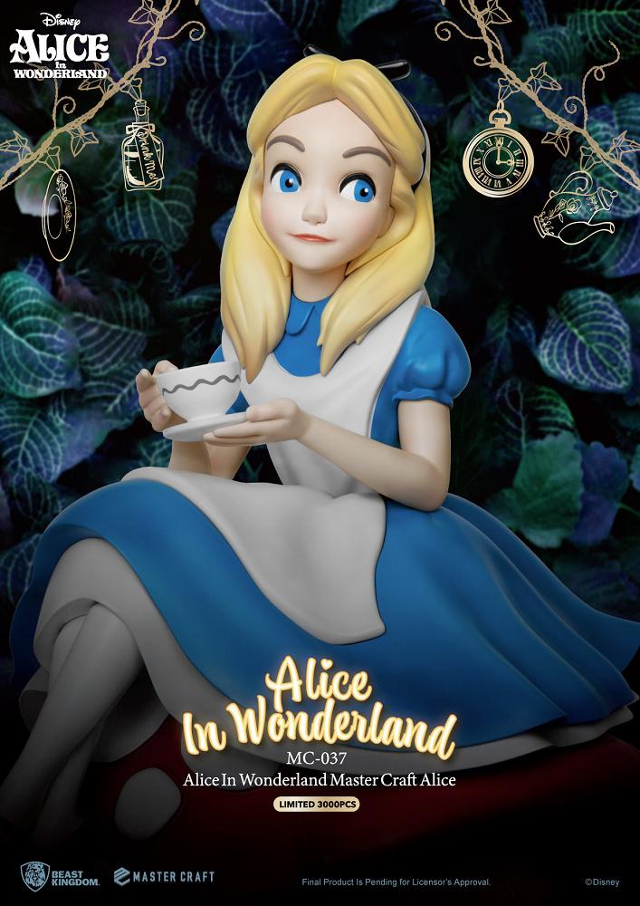 Alice no País das Maravilhas Master Craft - Estátua de Luxo Beast Kingdom