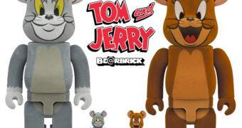 Bonecos Tom e Jerry Be@rbricks (100% & 400%)