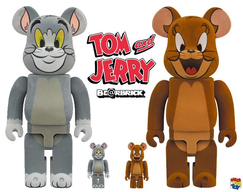 Bonecos Tom e Jerry Bearbricks