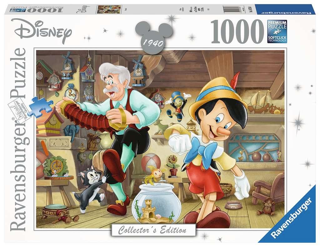 Pinocchio Disney Collector's Edition 1000 Piece Puzzle