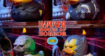 Patinhos de Borracha Hammer House of Horror: Drácula, Frankenstein, Múmia e Lobisomem
