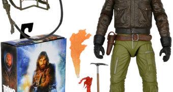 MacReady (Station Survival) de O Enigma de Outro Mundo (The Thing) – Action Figure Neca Ultimate 7″