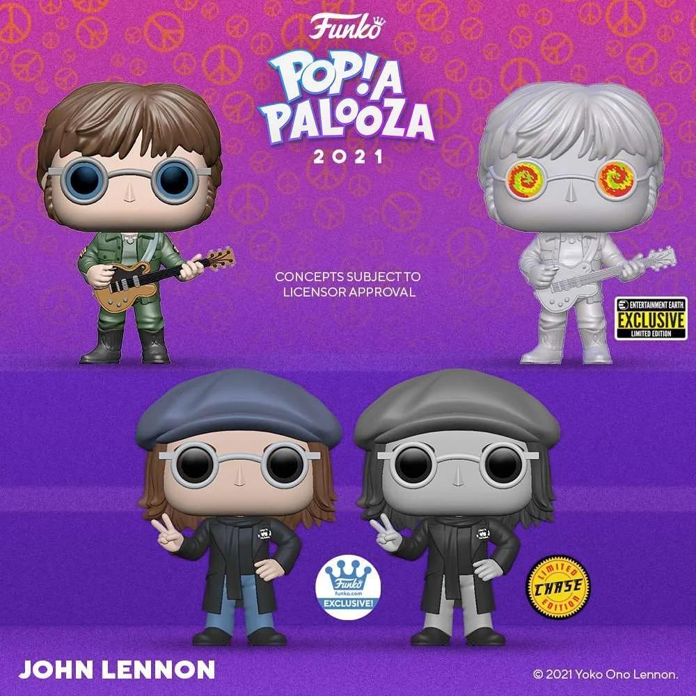 Bonecos Pop! John Lennon Popapalooza