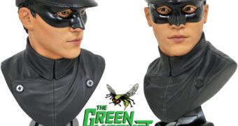 Busto Kato (Bruce Lee) Legends in 3D da Série Besouro Verde (Green Hornet) em Escala 1:2