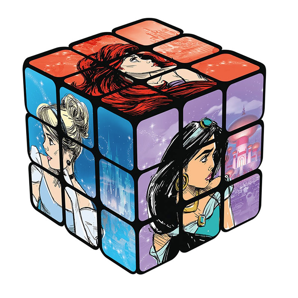 Cubo de Rubik Princesas Disney