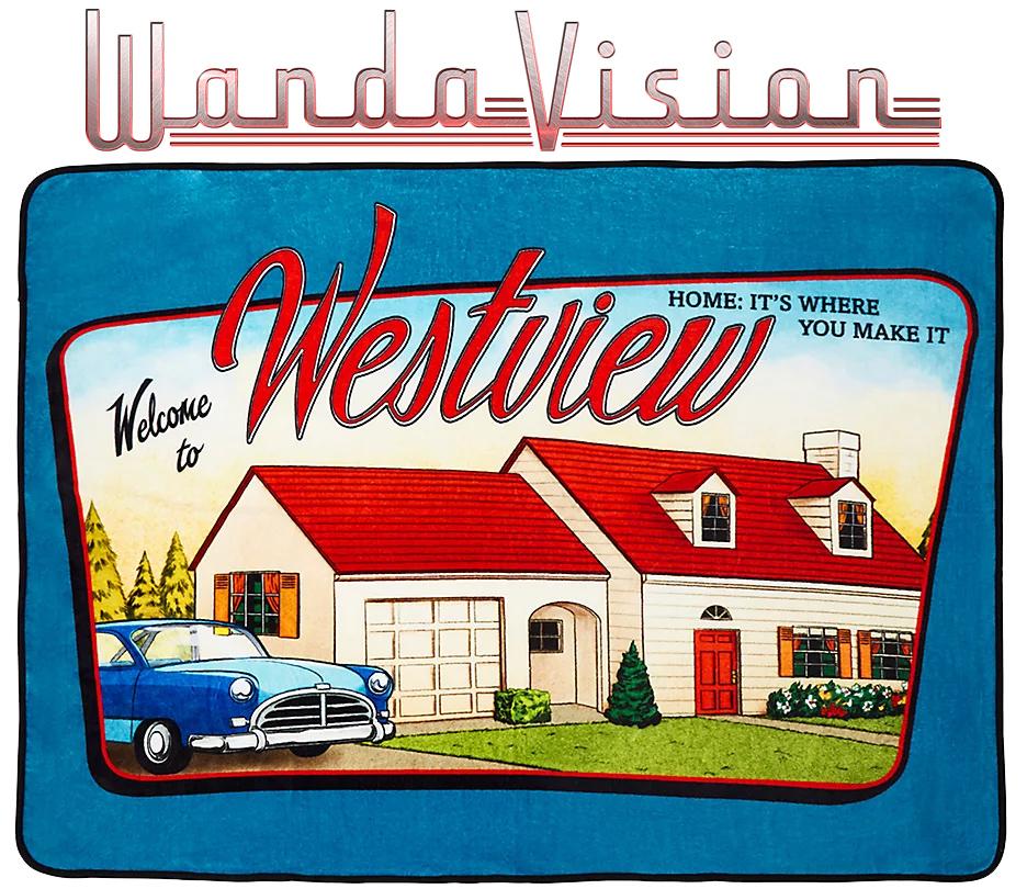 Cobertor de Lance WandaVision Cartão-Postal