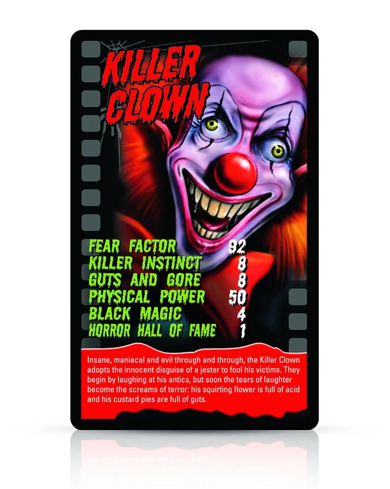 Super Trunfo Monstros do Horror e Terror em Caixa Fosforescente