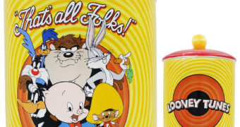 Pote de Cookies Looney Tunes