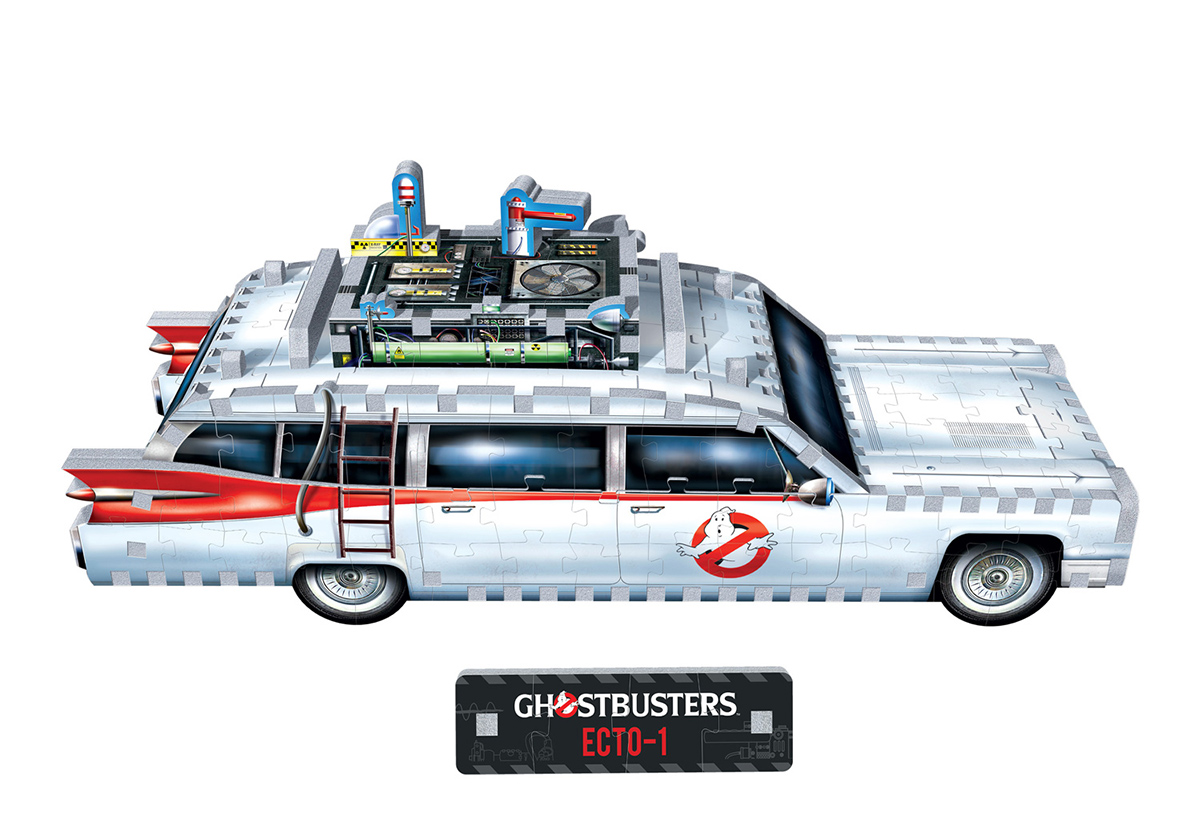 Ecto-1 Ghostbusters 280-piece 3D Puzzle