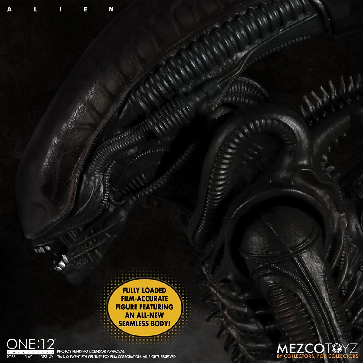 Action Figure Alien Xenomorfo One:12 Collective da Mezco