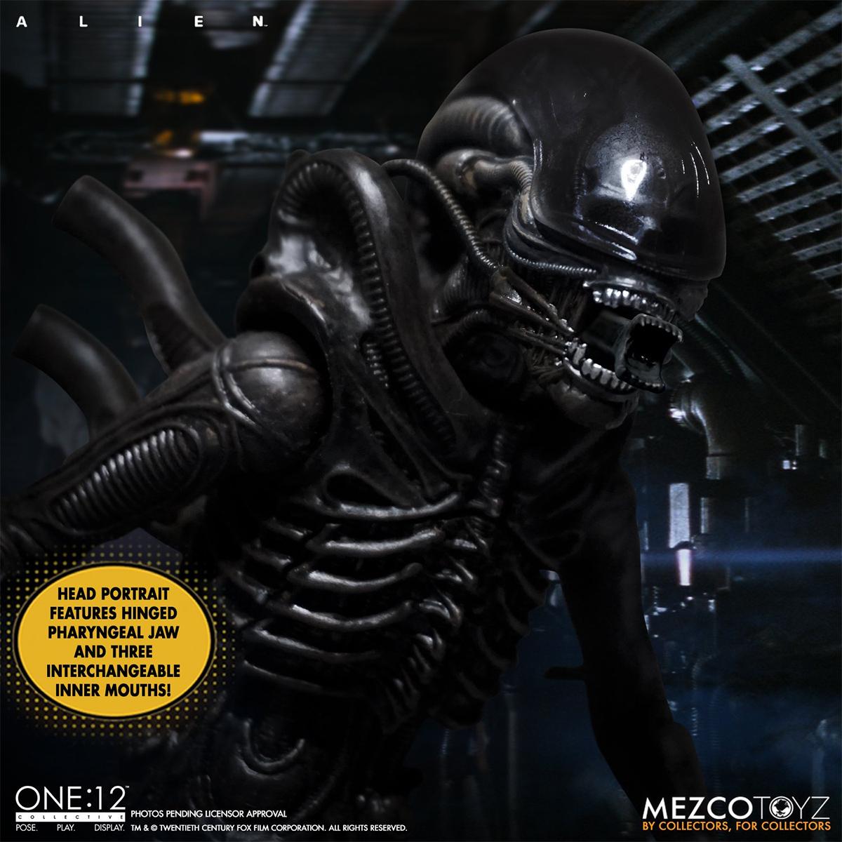 Action figure Alien One 12 Collective Mezco