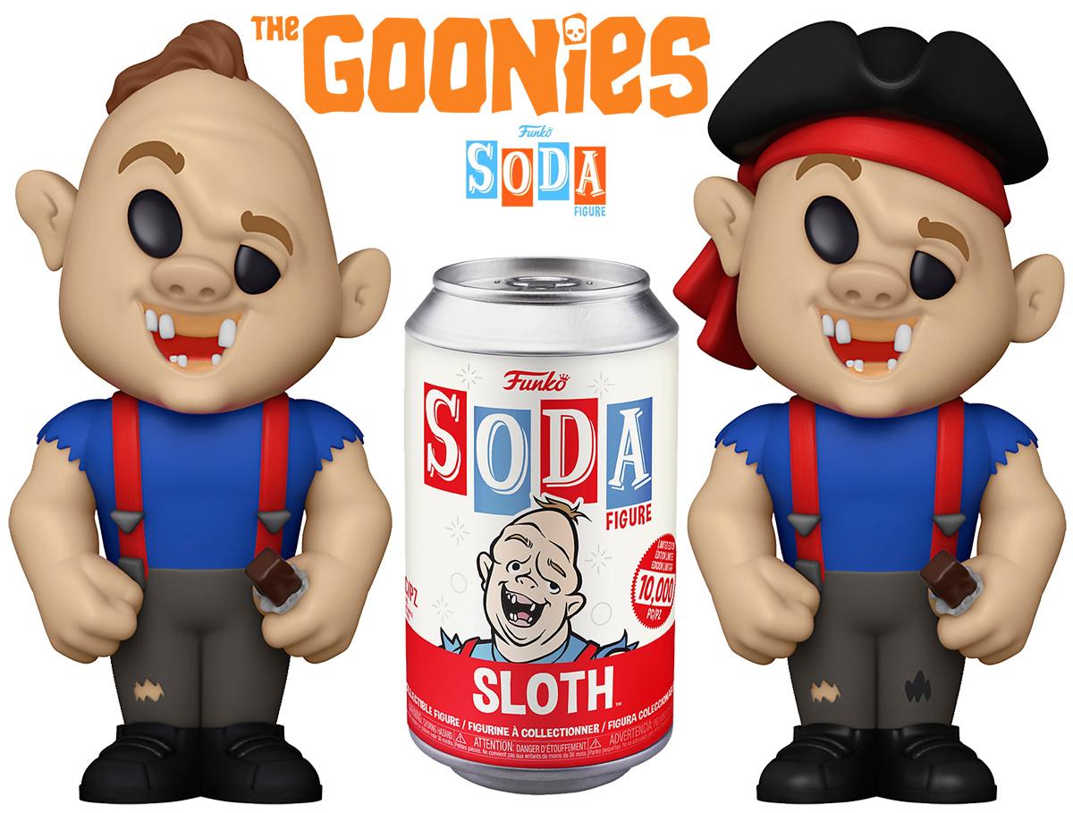 Boneco Lotney Sloth Fratelli Funko Vinyl SODA Os Goonies
