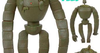 Quebra-Cabeça 3D Soldado Robô de O Castelo no Céu (Laputa: Castle In The Sky) do Diretor Hayao Miyazaki