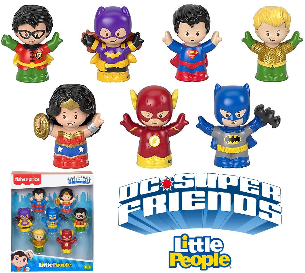 Bonecos Superamigos DC Comics Little People (Fisher-Price)