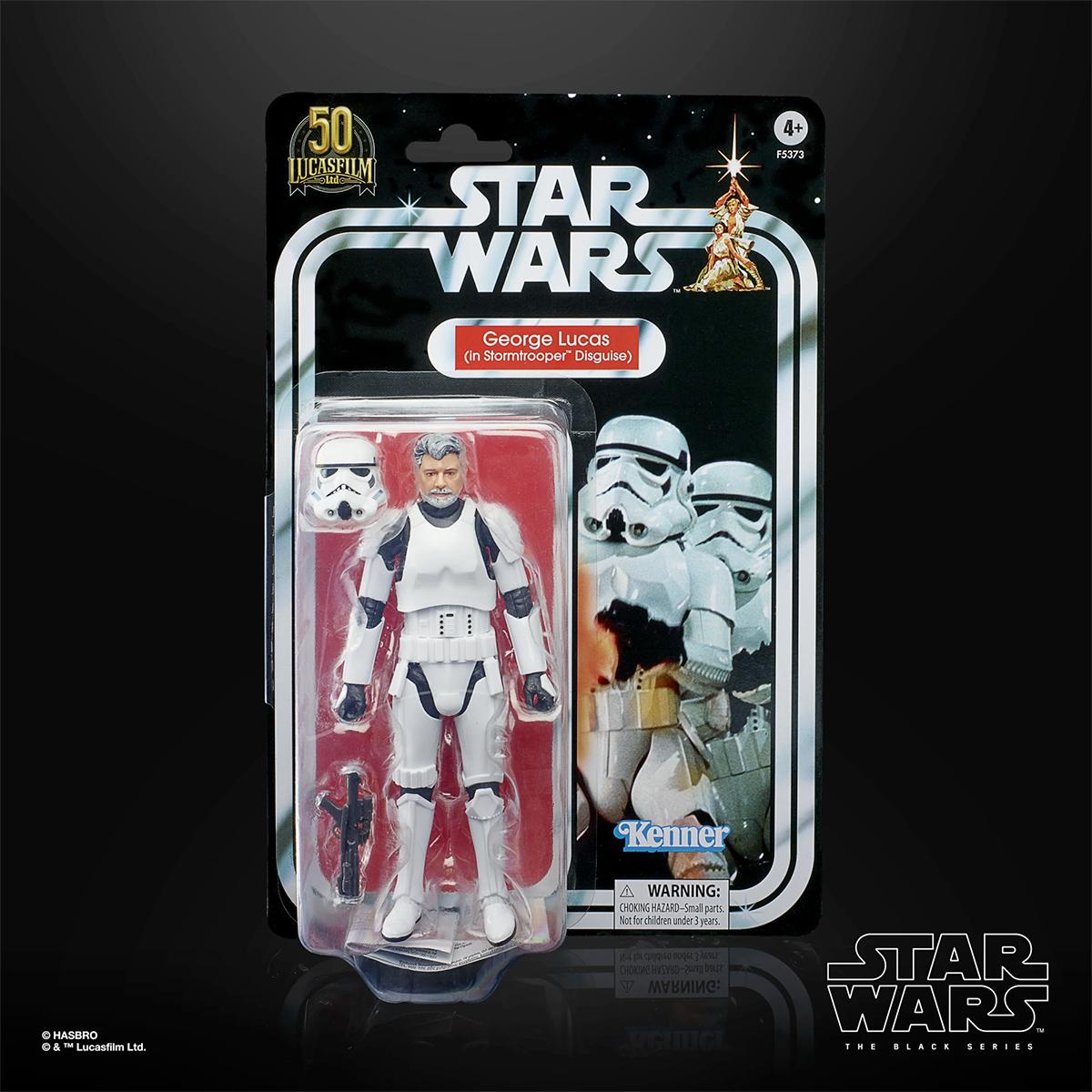 George Lucas (In Stormtrooper Disguise) Star Wars The Black Series Action Figure