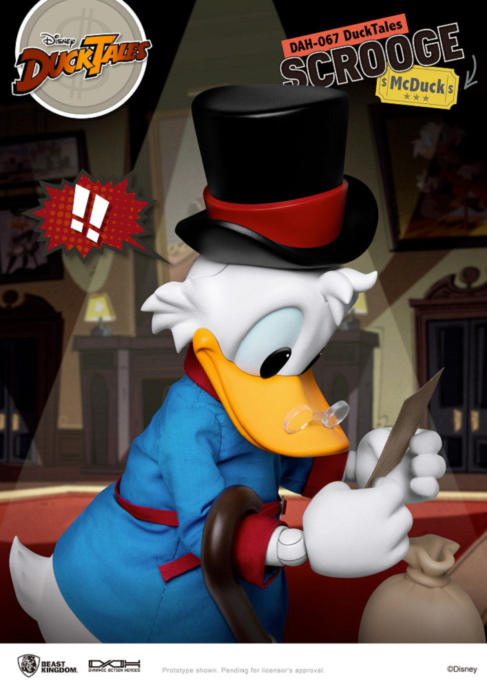 Tio Patinhas Dynamic Action Heroes (DAH) - Action Figure DuckTales Beast Kingdom