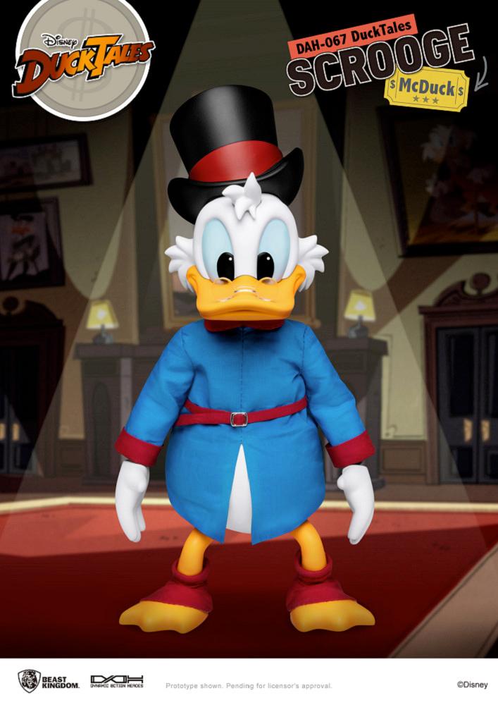 Tio Patinhas Scrooge McDuck DuckTales DAH Action Figure