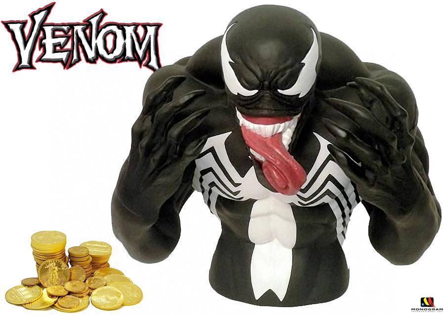 Cofre Venom, o Simbionte Alienígena da Marvel