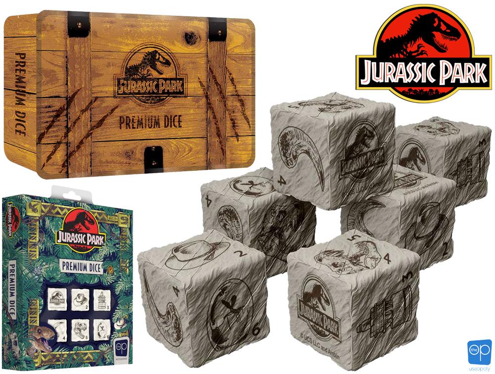 Conjunto de Dados Jurassic Park Premium