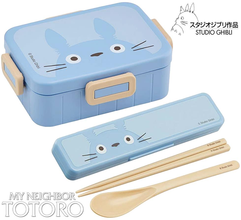 Marmita Bento Box e Estojo de Hashis Meu Amigo Totoro (Hayao Miyazaki)