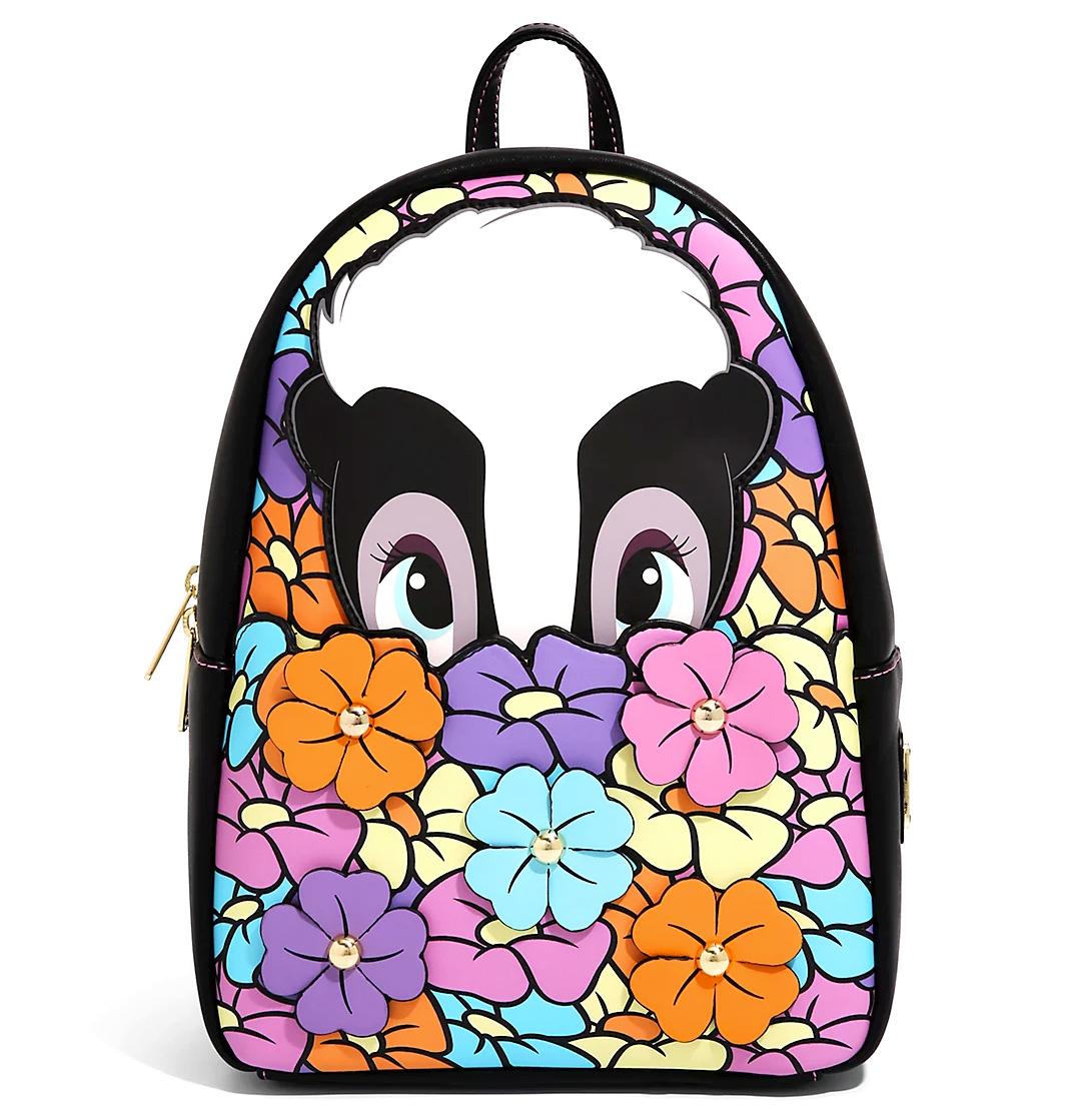 Bambi Flower in Flowers Loungefly Disney Mini Backpack
