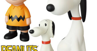 Peanuts Medicom VCD: Snoopy 1957 e Charlie Brown e Snoopy Vintage