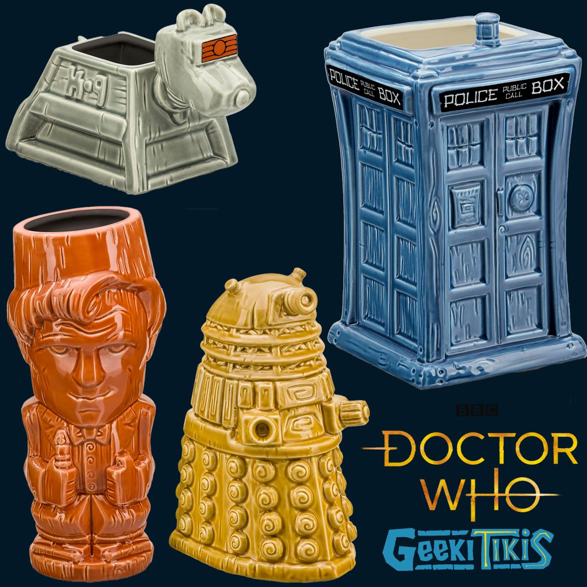 Canecas Doctor Who Geeki Tikis