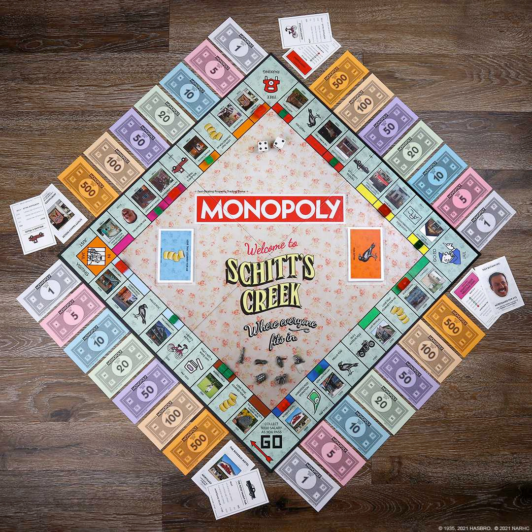 Jogo Monopoly da Série Schitt's Creek