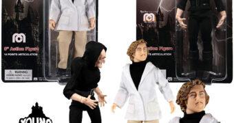 Action Figures Mego O Jovem Frankenstein: Dr. Frederick Frankenstein e o Corcunda Igor