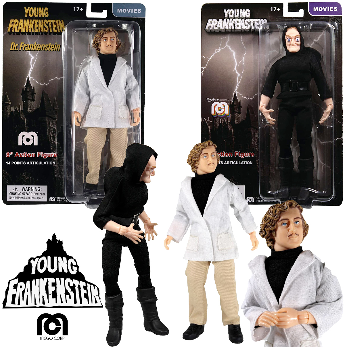Action Figures Young Frankenstein Mego