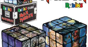 Cubo de Rubik Iron Maiden com o Mascote Eddie