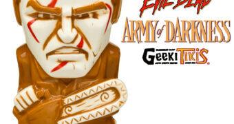 Caneca Ash Williams Geeki Tikis em Uma Noite Alucinante III (Army of Darkness)
