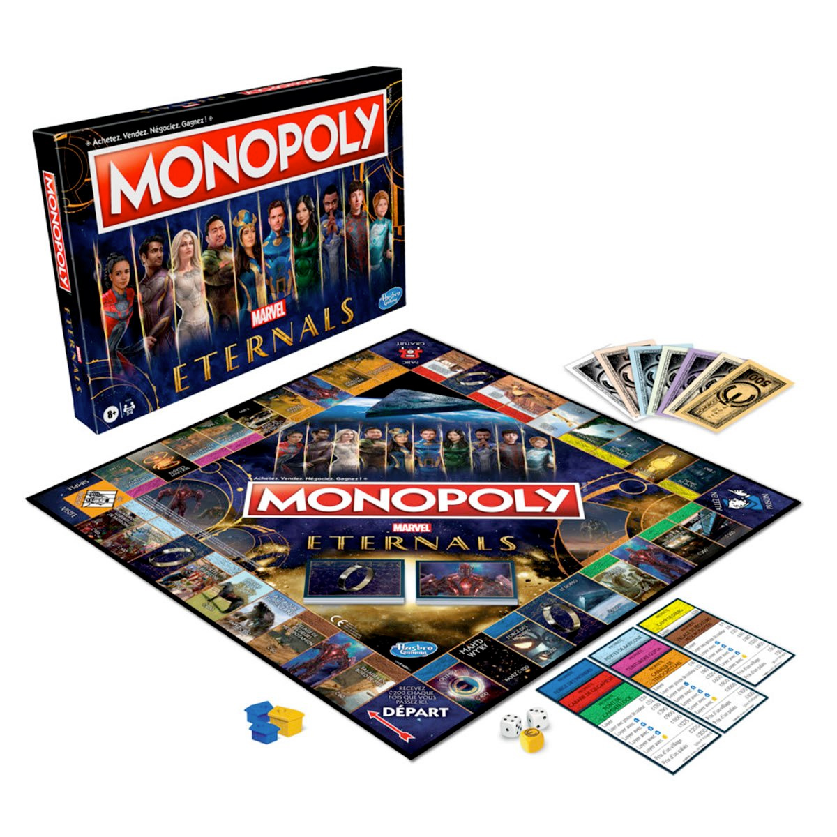 Eternals Edition Monopoly Board Game